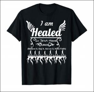 I am healed in Jesus name