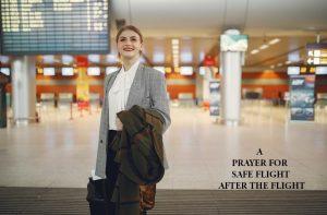 Safe flight prayer after the flight